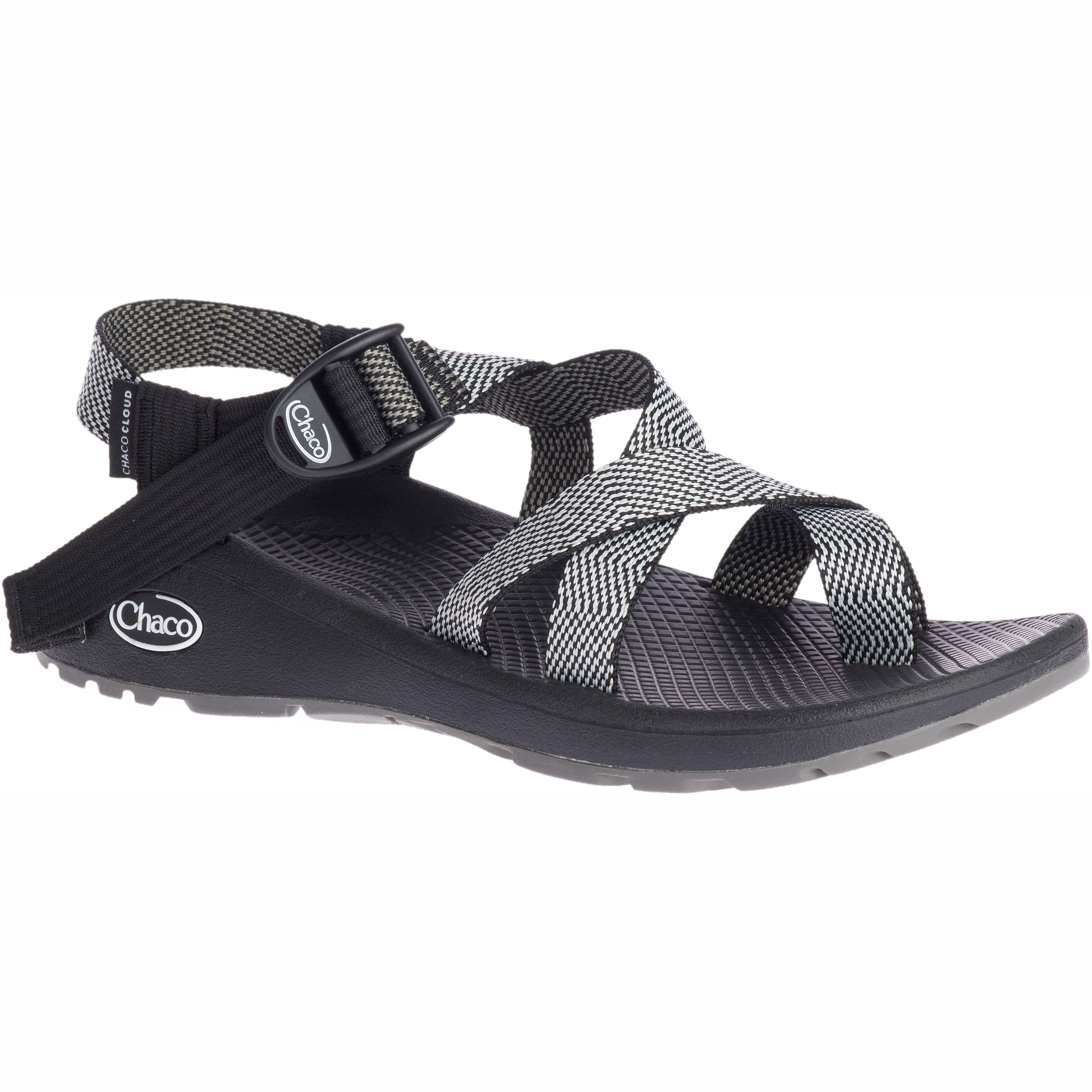 all black chacos